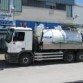 Avtocisterna za prevoz odplak in prevoz Kanalizacij (KANAL JET 10+4)