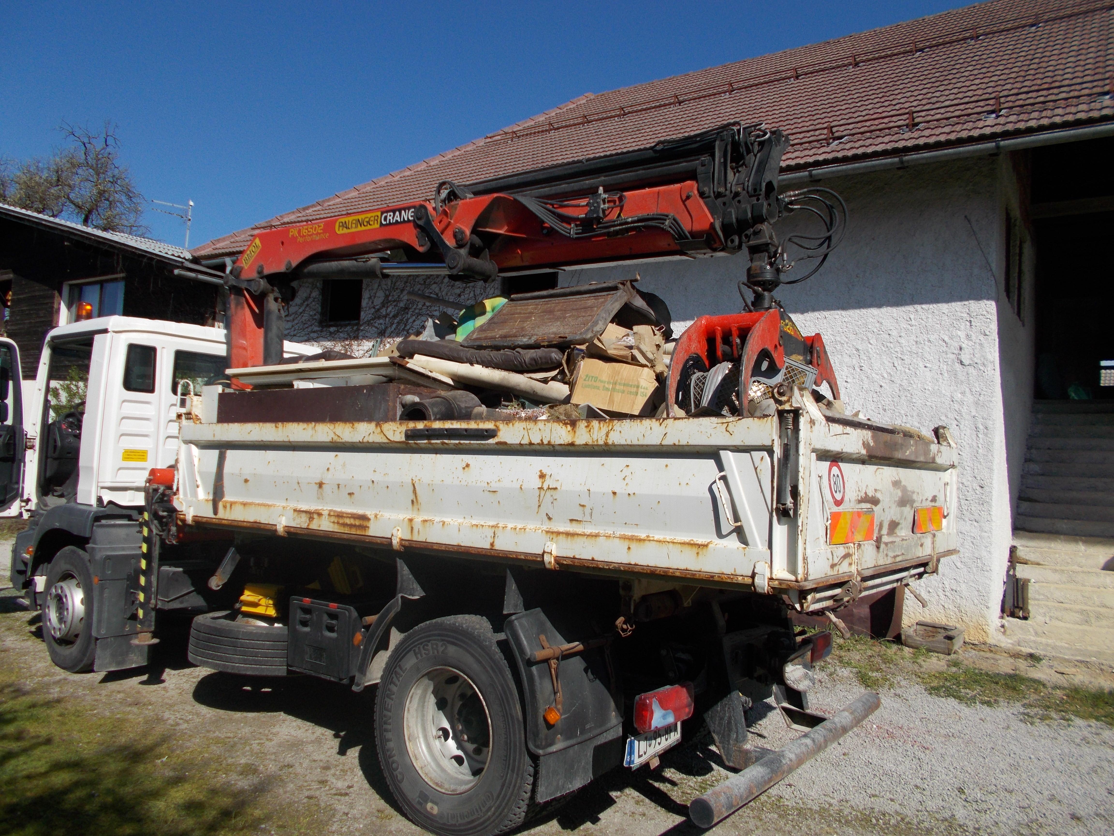 izvajanje kosovnega odvoza