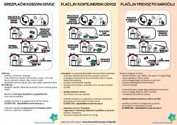 Kosovni in kontejnerski odvoz